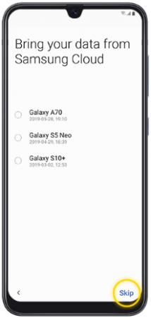 نحوه راه اندازی اولیه گوشی سامسونگ a10 و a10s | تنظیمات اولیه گوشی a10 و a10s