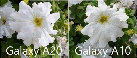 دوربین گوشی a10 بهتر است یا a20 ؟