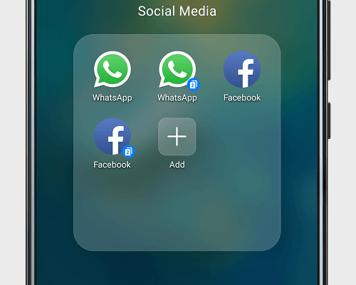 نصب دو واتساپ در یک گوشی هواوی