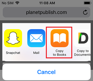 دانلود پی دی اف (pdf) برای آیفون و آیپد
