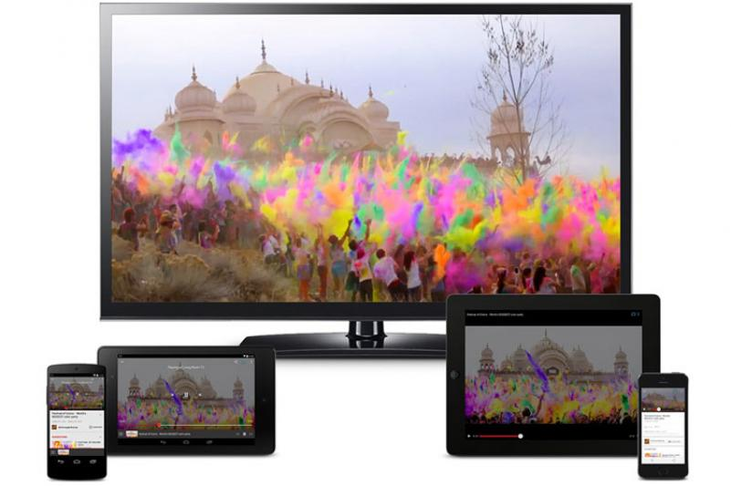 مشاهده تصاویر گوشی روی تلویزیون