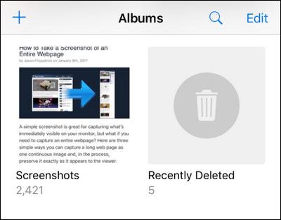 گرفتن اسکرین شات ایفون و ایپد,نحوه عکس گرفتن از صفحه ایفون یا ایپد