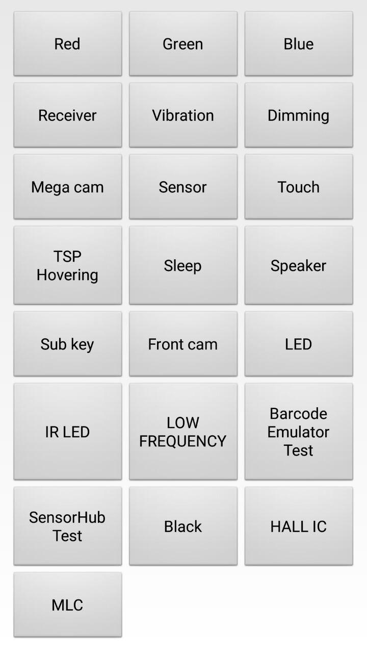تست سالم بودن گوشی سامسونگ,تست سالم بودن صفحه نمایش گوشی سامسونگ