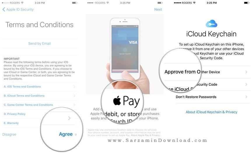 آموزش تنظیمات اولیه ایفون,آموزش تصویری راه اندازی گوشی آیفون