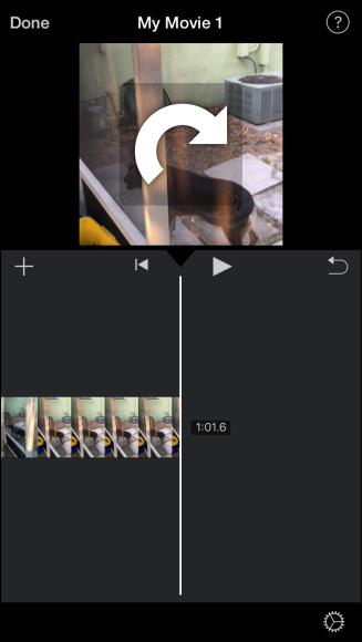 چرخاندن فیلم در ایفون,rotate کردن ویدئو در آیفون