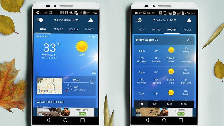 برنامه هواشناس,بهترین برنامه هواشناسی اندروید,دقیق ترین برنامه هواشناسی اندروید