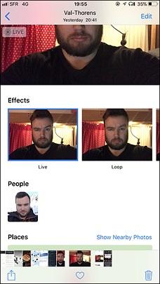 تبدیل تصاویر زنده به گیف در آیفون,آموزش ساختن گیف