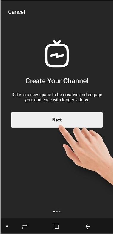 ساختن کانال ذر igtv,گذاشتن ويدئو طولاني در اينستاگرام