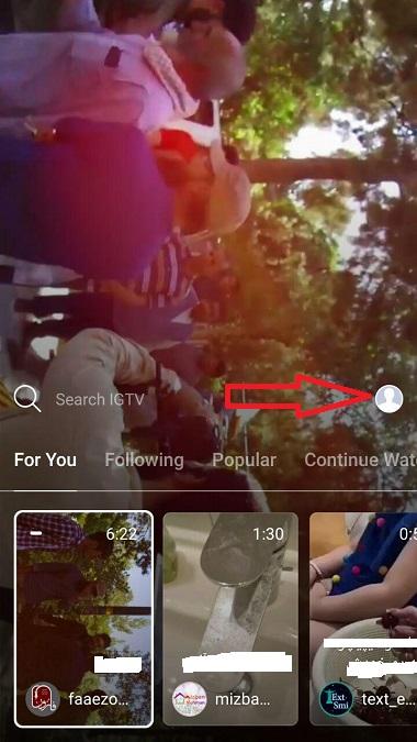 ساختن کانال ذر igtv,گذاشتن ویدئو طولانی در اینستاگرام