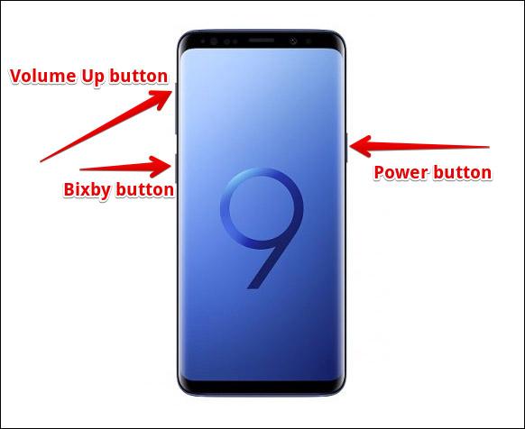 ريست فکتوري S9,هارد ريست کردن اس9 سامسونگ