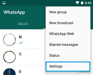تغيير شماره در واتس اپ اندرويد,تغيير شماره در واتس اپ