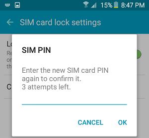 تغيير پين کد سيم کارت,تغيير پين همراه اول ,تغيير پين ايرانسل