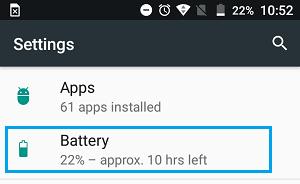 شناسایی برنامه های پرمصرف باتری گوشی های اندروید